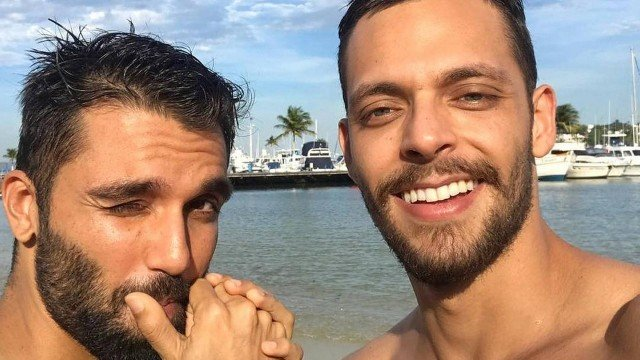 Silva e seu namorado Fernando Sotele (Foto: Rprodução/Instagram)