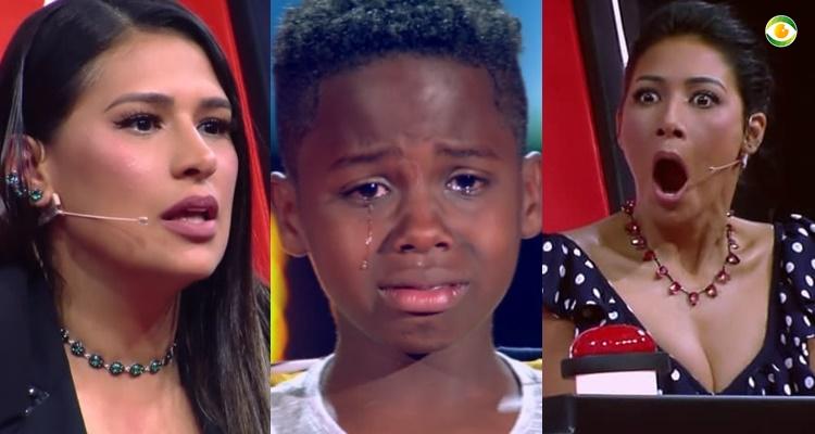 Jeremias faz parte do time Simone e Simaria do The Voice Kids