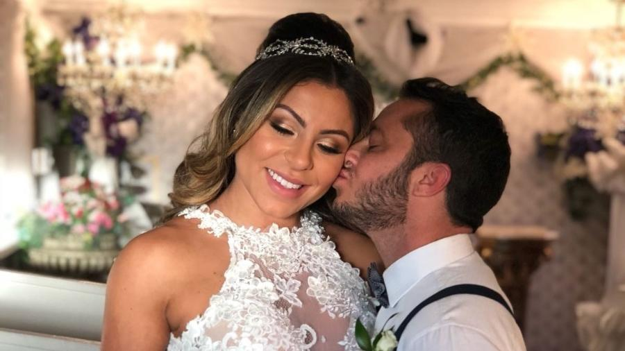 Thammy Miranda e sua mulher, Andressa Ferreira (Foto: Reprodução)