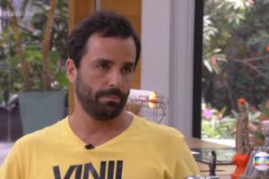 Vinícius durante participação no Mais Você (Foto: Reprodução/Globo)