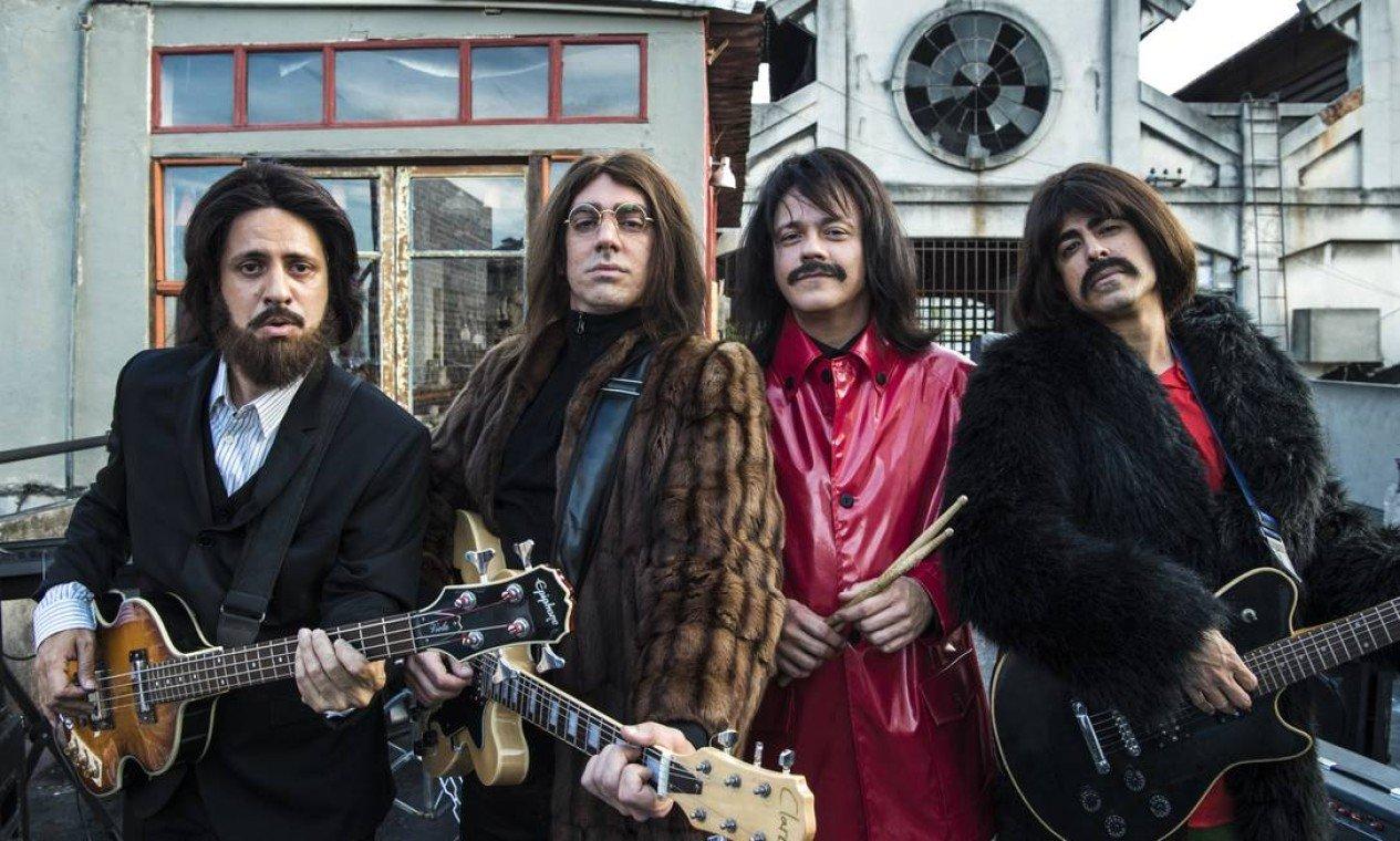 Nova temporada do Tá no Ar fará paródia dos Beatles (Foto: Globo / Estevam Avellar)