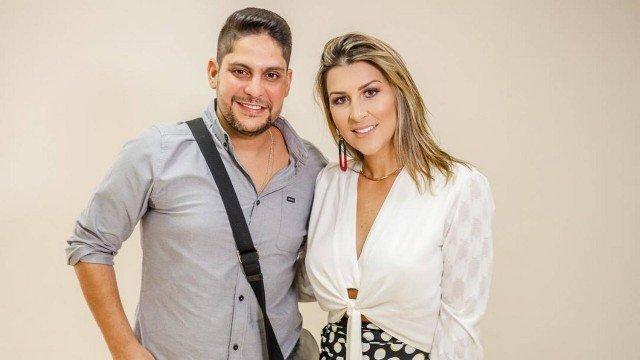 Jorge com Ina Freitas (Foto: Reprodução/ Instagram)