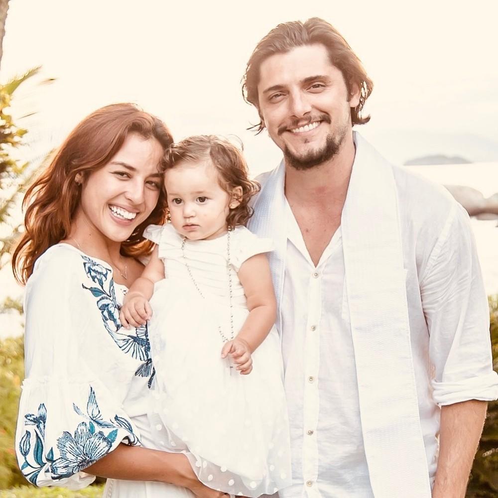 Yanna Lavigne e família (Foto: Reprodução)