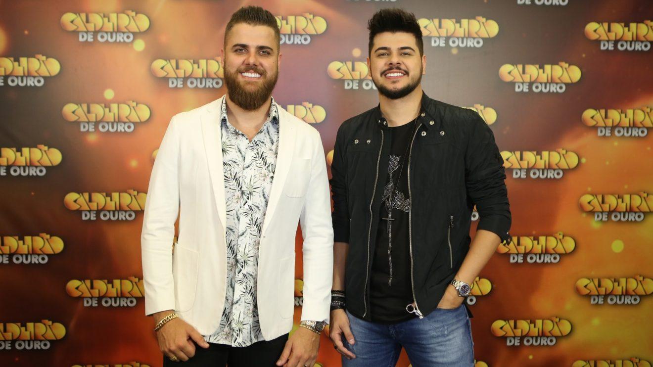 Os cantores Zé Neto & Cristiano (Foto: Isabella Pinheiro/Gshow)