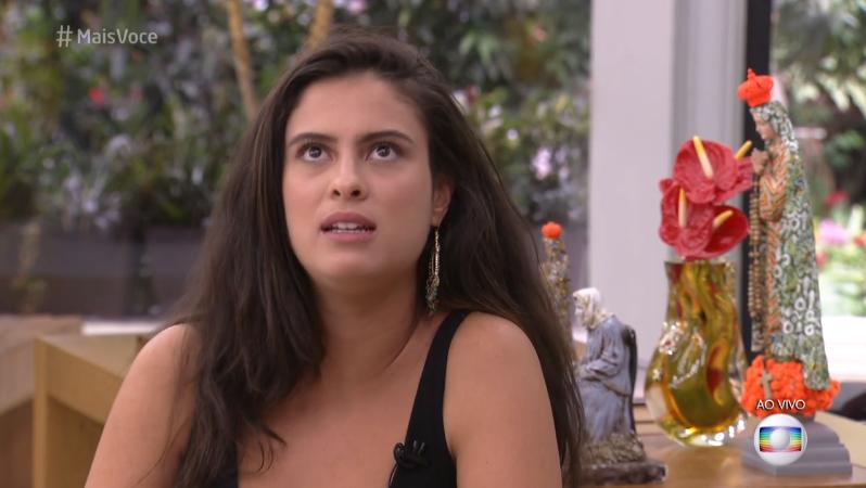 Hana durante participação no Mais Você (Foto: Reprodução/Globo)
