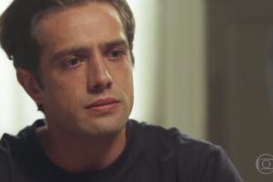 Rafael Cardoso (Daniel) em cena de Espelho da Vida (Foto: Reprodução/Globo)