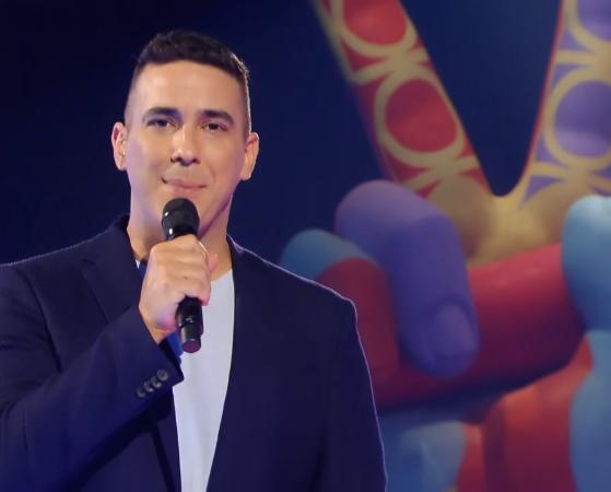 André Marques no comando do The Voice Kids (Foto: Reprodução/Globo)