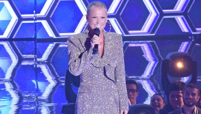 Xuxa na estreia do The Four Brasil (Foto: Blad Meneghel)