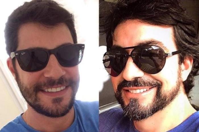 Evaristo Costa e Padre Fábio de Melo (Foto: Divulgação)