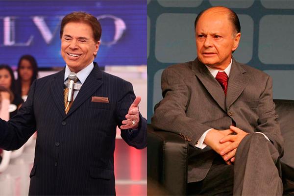 Silvio Santos é dono do SBT e Edir Macedo da Record. (Foto: Reprodução/Montagem)