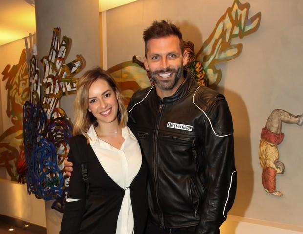 Henri Castelli e a ex-noiva, Maria Fernanda (Foto: Divulgação)