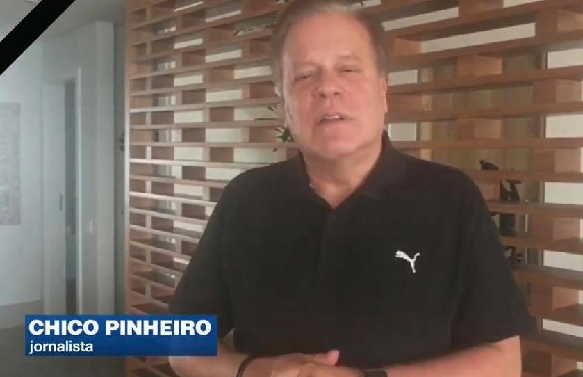 Chico Pinheiro na Band (Foto: Divulgação)