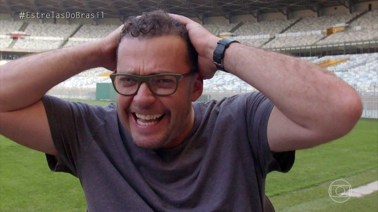 Fernando Rocha na Globo (Foto: Reprodução)