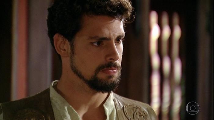 Jesuíno (Cauã Reymond) em cena de Cordel Encantado (Foto: Reprodução/Globo)