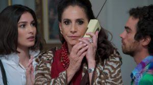 Totia Meirelles teve que regravar tudo na Globo (Foto: Reprodução)