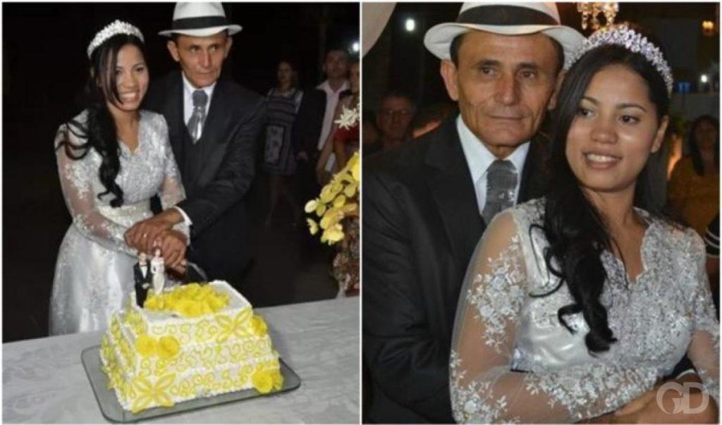 Stefhany Absoluta e marido Foto: Reprodução.