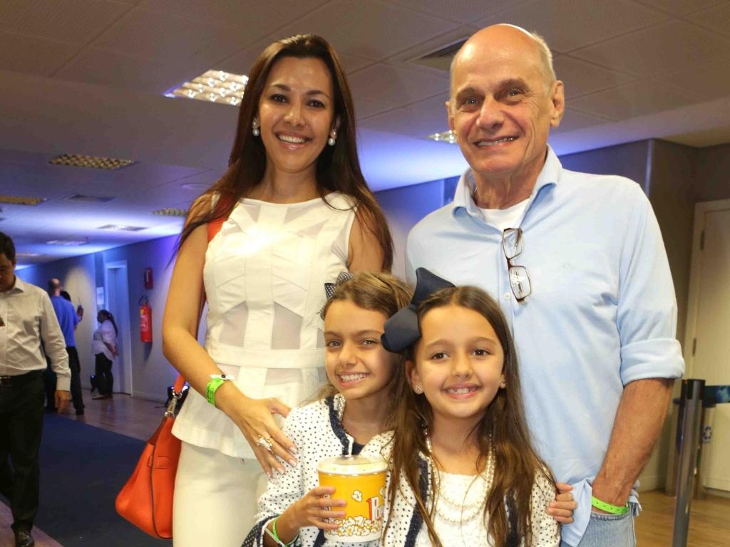 Ricardo Boechat e a família (Foto: Divulgação)