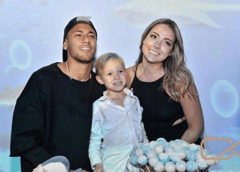 Davi Lucca é fruto do rápido relacionamento de Neymar com Carol Dantas (Foto: Reprodução/Montagem)