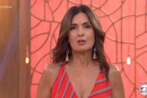 Fátima Bernardes no Encontro (Foto: Reprodução/Globo)