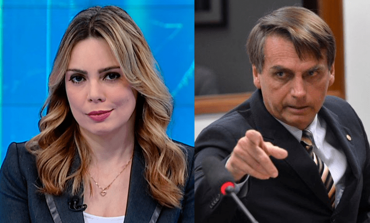Rachel Sheherezade e Bolsonaro (Foto: Divulgação)