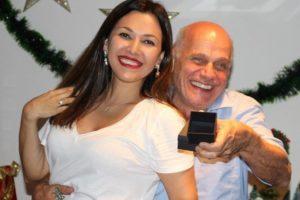 Ricardo Boechat e Veruska Boechat (Foto: Divulgação)