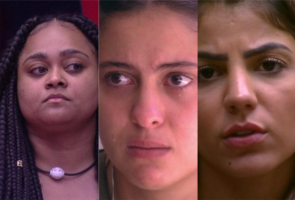 Rizia, Hana e Hariany estão no paredão do BBB19; quem deve sair?
