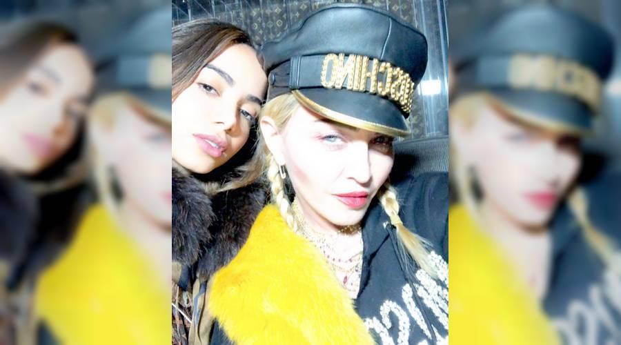 Anitta e Madonna (Foto: Divulgação)