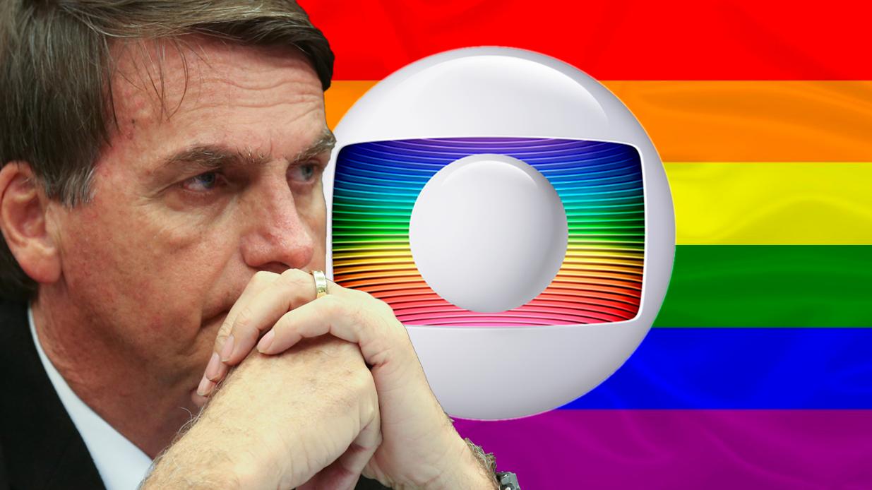 Jair Bolsonaro x Globo (Foto: Reprodução)