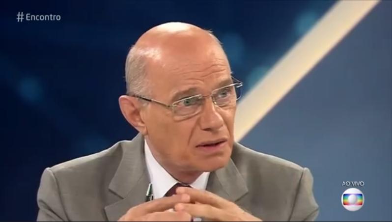 O jornalista Ricardo Boechat (Foto: Reprodução/Globo)