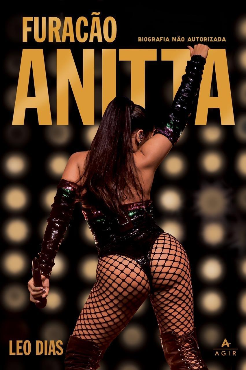 Capa da biografia de Anitta (Foto: Reprodução)