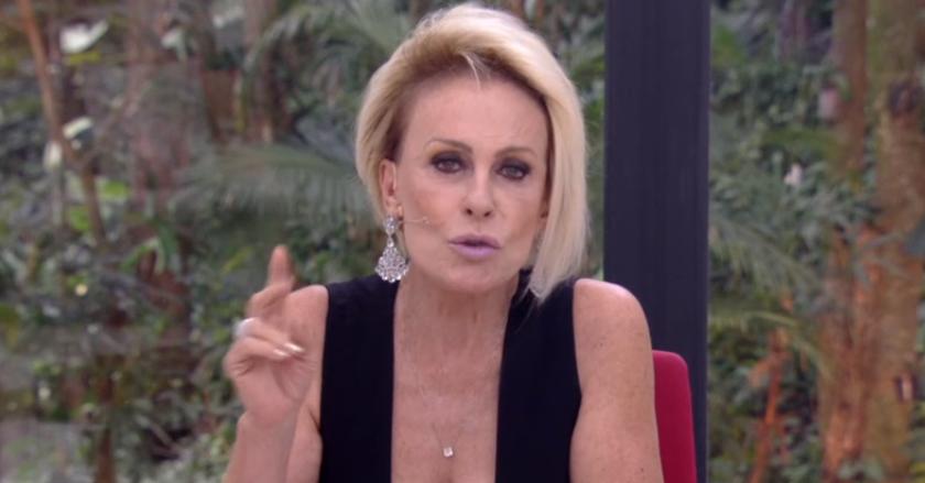 Ana Maria Braga foi direta na Globo (Foto: Reprodução)