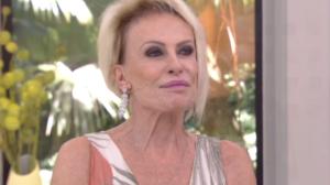 Ana Maria Braga na Globo (Foto: Reprodução)