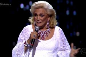 Hebe Camargo na Globo (Foto: Reprodução)