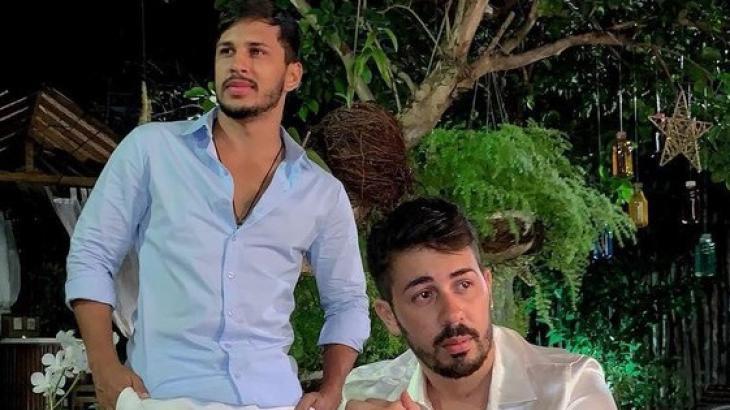 Carlinhos Maia e seu noivo, Lucas Guimarães (Foto: Reprodução/Instagram)