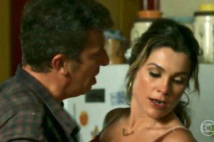 Machado e Rita de Cássia em O Sétimo Guardião (Foto: Reprodução)