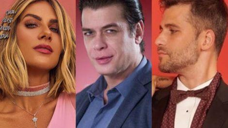 Giovanna Ewbank, Fábio Assunção e Bruno Gagliasso (Foto: Reprodução)