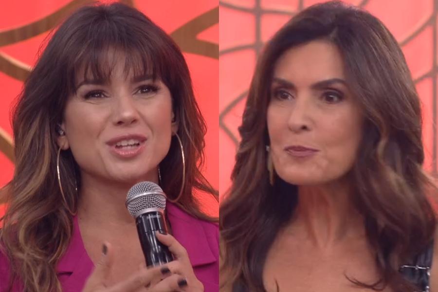 Paula Fernandes esteve no Encontro com Fátima Bernardes (Foto: Reprodução)