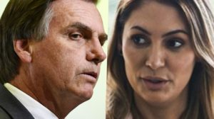 Jair Bolsonaro e Michelle Bolsonaro (Foto: Reprodução)