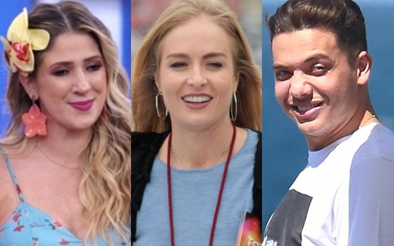 Dani Calabresa, Angélica e Wesley Safadão eram cotados para o programa (Foto: Reprodução)