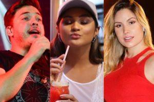 Wesley Safadão, Mileide Mihaile e Thyane Dantas (Foto: Reprodução)