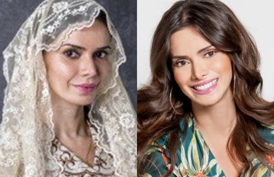 Simone Zucato interpreta Liliane em O Sétimo Guardião (Foto: Divulgação)