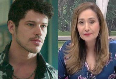 José Loreto e Sonia Abrão (Foto: Reprodução)