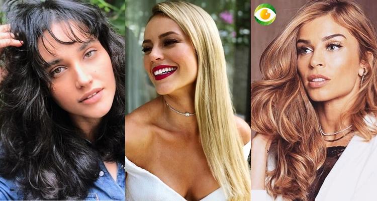 Debora Nascimento, Paolla Oliveira e Grazi Massafera