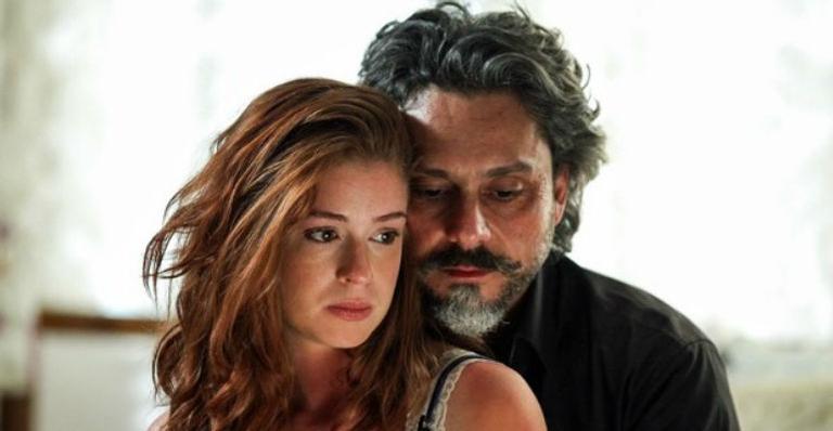 Marina Ruy Barbosa e Alexandre Nero (Foto: Divulgação)