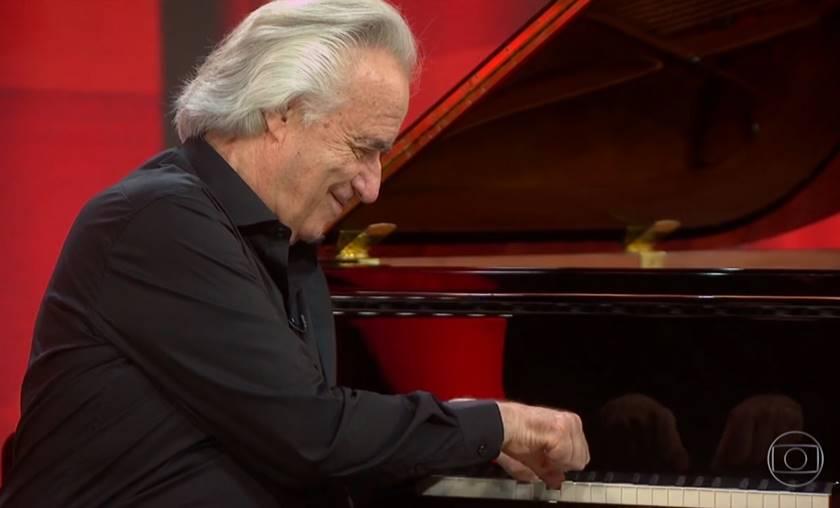 Maestro João Carlos Martins (Foto: reprodução TV Globo)