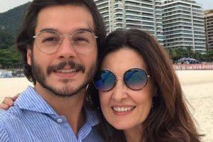 Túlio Gadêlha e Fátima Bernardes (Foto: Divulgação)