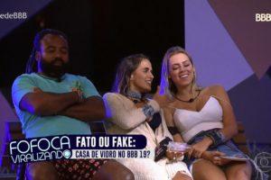 Versão do Fofocalizando na Globo (Foto: Reprodução)