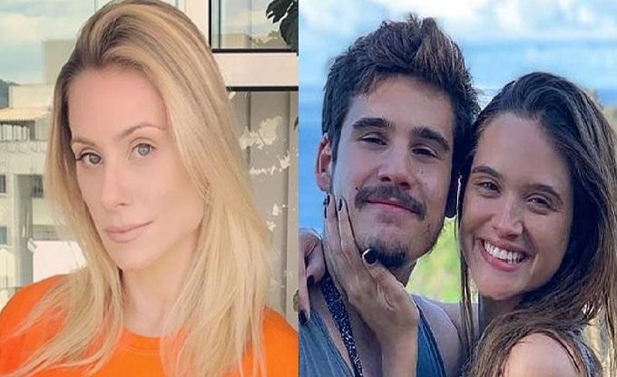 Giselle Prattes, Nicolas Prattes e Juliana Paiva (Foto: Reprodução)