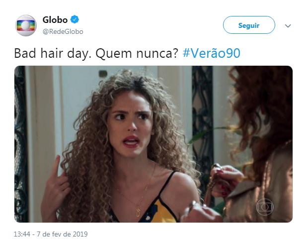 Publicação polêmica da Globo (Foto: Reprodução/ Twitter)