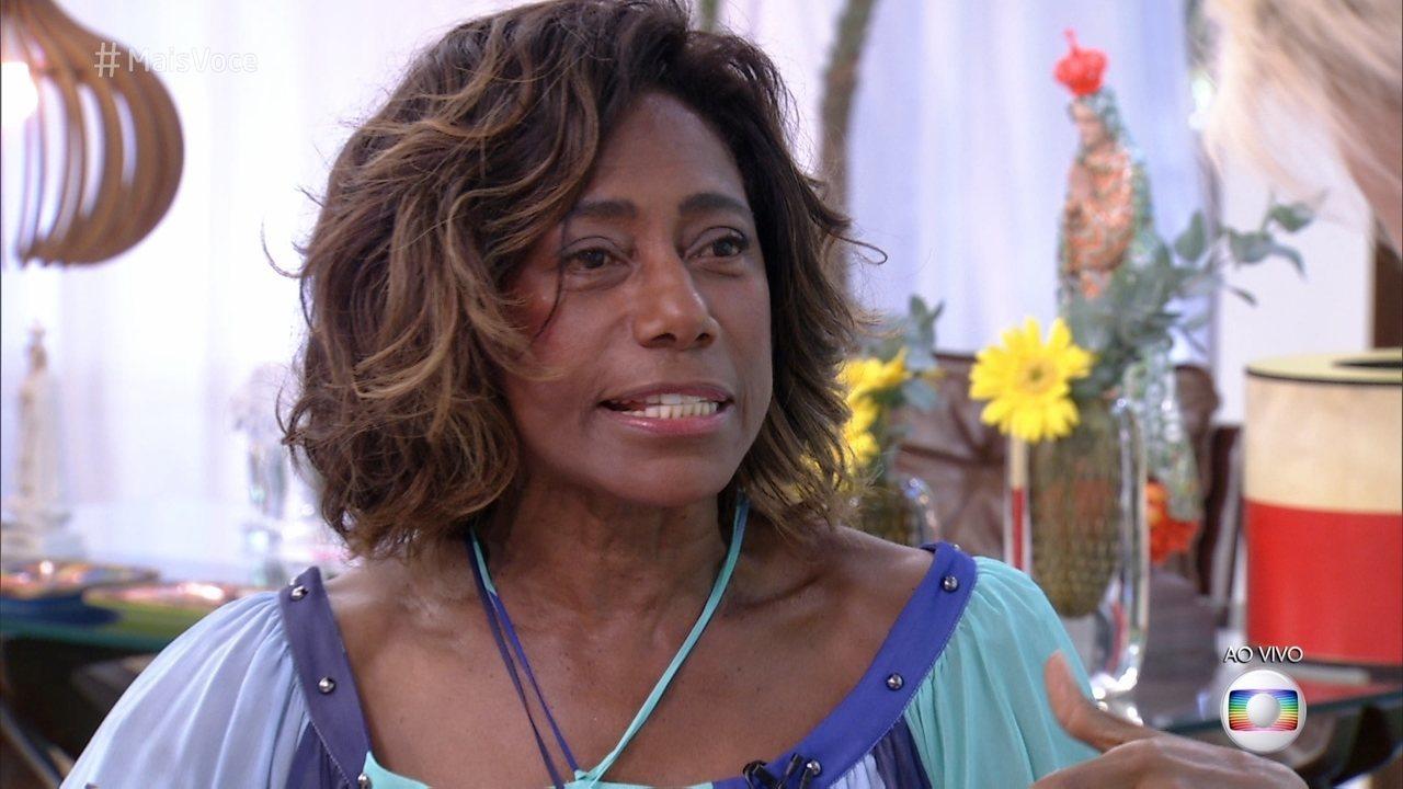 """Gloria Maria surpreende ao falar sobre sua idade e dispara: """"Nem quando morrer"""" Foto: Reprodução"""